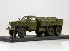 Scale truck model 1:43, Studebaker US6 U5 tank