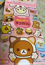 Official San-X Re-Ment Rilakkuma Neko Cafe Relaxation Time Set #4