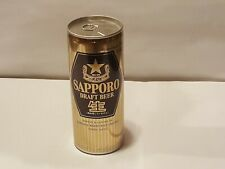 Sapporo Draft Tab top