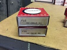 2-Consolidated ,bearings#HK 3518-RS,30day warranty, free shipping lower 48!