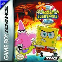 The Spongebob Squarepants Movie - Nintendo Game Boy Advance GBA