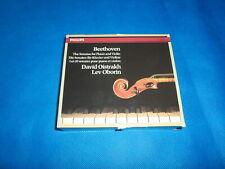 DAVID OISTRAKH Violin Sonatas BEETHOVEN LEV OBORIN RARE 4 CD BOX WEST GERMANY