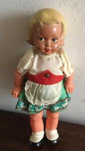 Gorgeous Antique/ Vintage Celluloid/hard Plastic German Doll