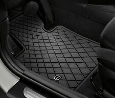 Mini Cooper F56 & F55 4door  Rubber Floor Mats Floormats 2014-2017 Front Set OEM