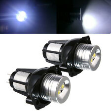 2x 20W Angel Eyes LED Headlight Marker Halo Ring Light Bulb Fit For BMW E90 E91