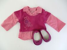 American Girl of Today 2008 Clothes #85 School Days Pink Sweater Shirt & Shoes