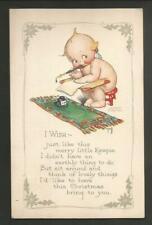 Vintage Rose O'Neill Christmas Kewpie Postcard