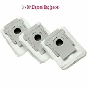 Robot Clean Auto Dirt Disposal Bags For Roomba I7+ Robot Vacuum Cleaner 3-Pack