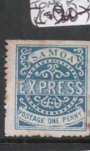 Samoa SG 15 Some Tone Spots MNG (7dgs)