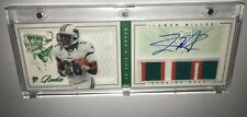 2013 LAMAR MILLER PANINI ROOKIE PLAYBOOK 3 CLR PATCH BOOKLET RC AUTO/AUTOGRAPH/5