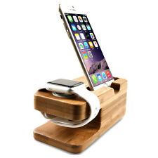 Charging Dock Stand Station Charger Holder for Apple Watch iWatch iPhone X 8 8+