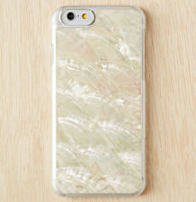 """Real Sea Shell Natural Conch Peal Stone White Cover Case for Apple iPhone 6 4.7"""""""