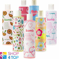 BOMB COSMETICS SHOWER GEL 300 ML NATURAL MADE IN UK NEW