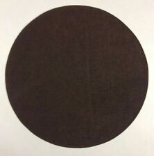 """New listing New 6"""" Round Brown Felt Pad W/ Adhesive Back For Lamp Bases, Vases, Etc #Bf206"""