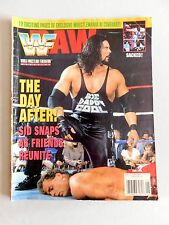 WWE RAW Wrestling Magazine Diesel Shawn Michaels June 1995 Bret Hart