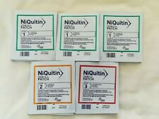 35  X NIQUITIN CLEAR 24 HOUR NICOTINE PATCHES - 5 WEEK COURSE