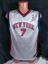 Channing Frye New York Knicks Jersey Talla Juvenil XL Blanco baloncesto de la NBA