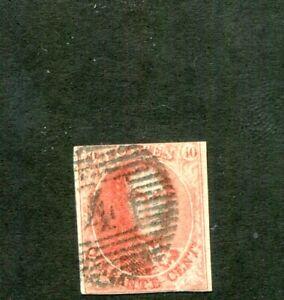 Belgium #12 Fine Used. Cat 150.00