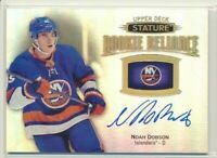 2019-20 Upper Deck Stature Rookie Reliance AUTO Noah Dobson New York Islanders