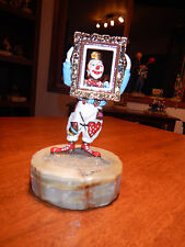 Ron Lee Get the Picture #456 Clown holding picture frame rare vintage