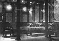 Photo 5 x7: Titanic Interior: The Turkish Baths: View 2