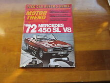 Motor Trend June 1971, Used Car Buyer's Guide, Best Buys, Diagnostic Tests