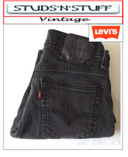 "VINTAGE LEVIS 521'S  SLIM TAPERED JEANS W 29"" L 29"" APROX SIZE UK 8 / 10 ( T204"