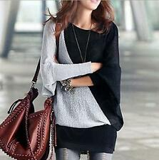 Casual Women Ladies Loose Batwing Long Sleeve T-Shirt Pullover Tunic Tops Blouse