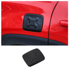 Exterior Accessories Gas Fuel Tank Cap Cover Filler Door Trim For Jeep Renegade