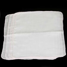 10X Natural Cotton Facial Cleansing Muslin Cloth Makeup Removal Towel Cloth
