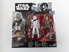 NEUF Star Wars - Rogue One (Blister) -  lot Snow trooper officer + Poe Dameron