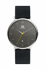 DANISH DESIGN MEN'S WATCH 3314536 Date Leather Wrist Band
