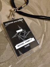 Metallica Grammy Winning S&M Composer Michael Kamen Personal Backstage Pass