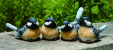 3rd Small Resin Chickadee Bird Figurine (1 bird only)