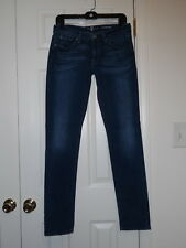 7 SEVEN FOR ALL MANKIND LOW RISE ROXANNE SKINNY LEG STRETCH JEANS SIZE 27 28 29