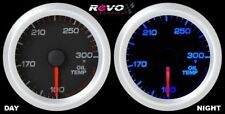 "Blue LED Oil Temperature Racing Gauge Meter 2 1/16"" W/O Mount Kit"