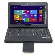 Detachable Bluetooth Keyboard Leather Case Cover Stand For Lenovo Tablet 2 10.1""