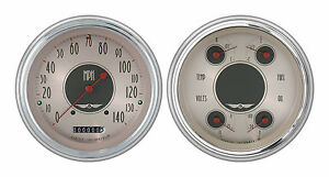 classic instruments 51-52 chevy car gauges ch51an52 speedo quad new