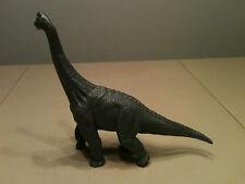 "2000 Hard Rubber Toy Brachiosaurus Dinosaur 10"" Long"