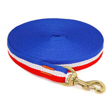 10/16/33ft Dog Training/Tracking Lead Leash Pet Leashes Durable Nylon Rope Blue
