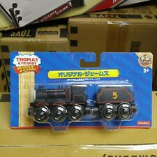 """Thomas & Friends Wooden Railway Engine Introducing James  """"Fisher-Price"""""""