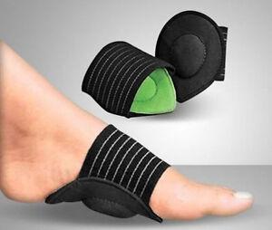 FOOT ARCH SUPPORT Plantar Cushion Fasciitis Aid Fallen Arches Heel Pain Relief