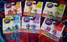 Littlest Pet Shop Rainbow Mini Figure BFF Lot of 6 Sets (12 Total Pets) GIFT