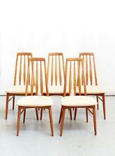 """Niels Koefoed """"Eva"""" Chair for Koefoeds Hornslet Møbelfabrik I set of Five"""