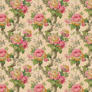 Bradbury and Bradbury Wallpaper - Vintage Cabbage Roses