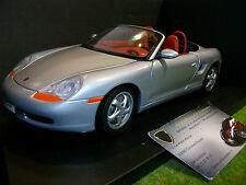 PORSCHE 911 BOXSTER cabriolet gris au 1/18 UT MODELS WAP021007 voiture miniature