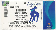 Women's Rugby World Cup 2010 final ticket