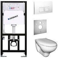 Vorwandelement mit Spülkasten Geberit mit Ceravid Wand-WC beschichtet  .