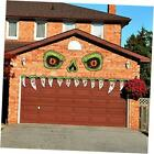 Halloween Monster Face Outdoor Decoration with Eyes Fangs Nostril 14.6inch