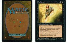 MAGIC THE GATHERING, MTG FBB NIGHTMARE / NACHTMAHR (German) mp